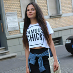 Famous Chick crop top